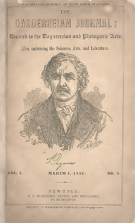 Daguerre, cover of Daguerreian Journal